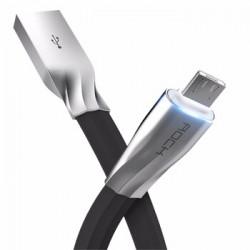 Кабель Rock Auto-Disconnect Micro-USB 1m