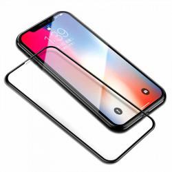 Защитное стекло iPhone X (Черное)