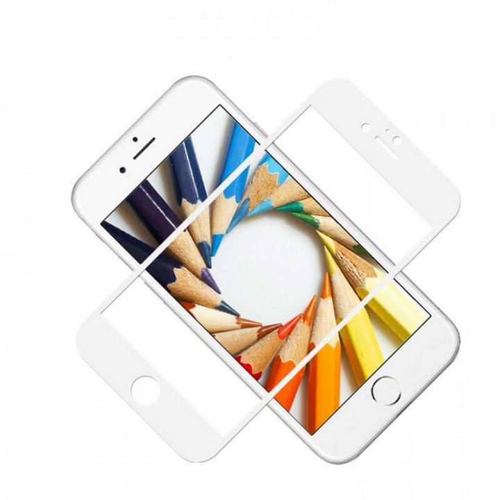 Защитное стекло iPhone 6Plus/6SPlus (Белое)