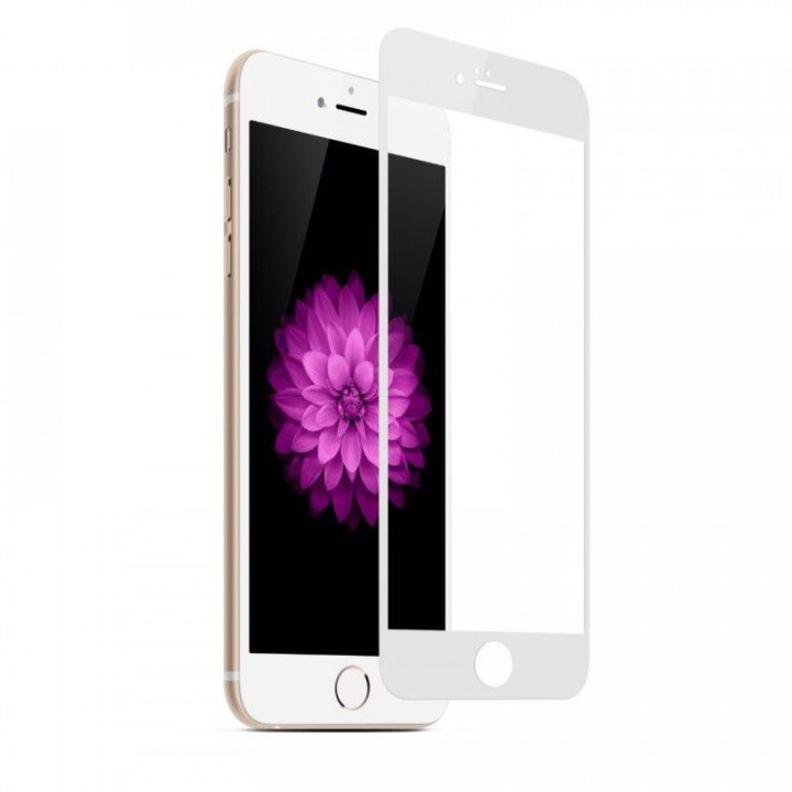 Защитное стекло iPhone 7/8 (Белое)