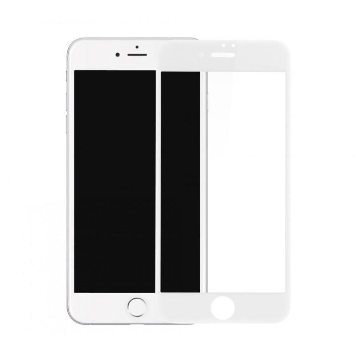 Защитное стекло iPhone 7Plus/8Plus (Белое)