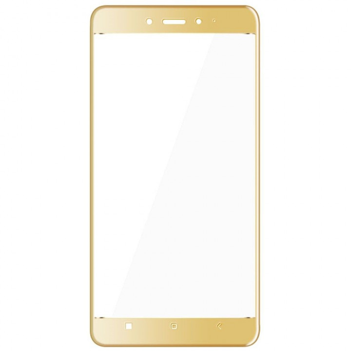 Защитное стекло Xiaomi Redmi Note 4X (Золото)