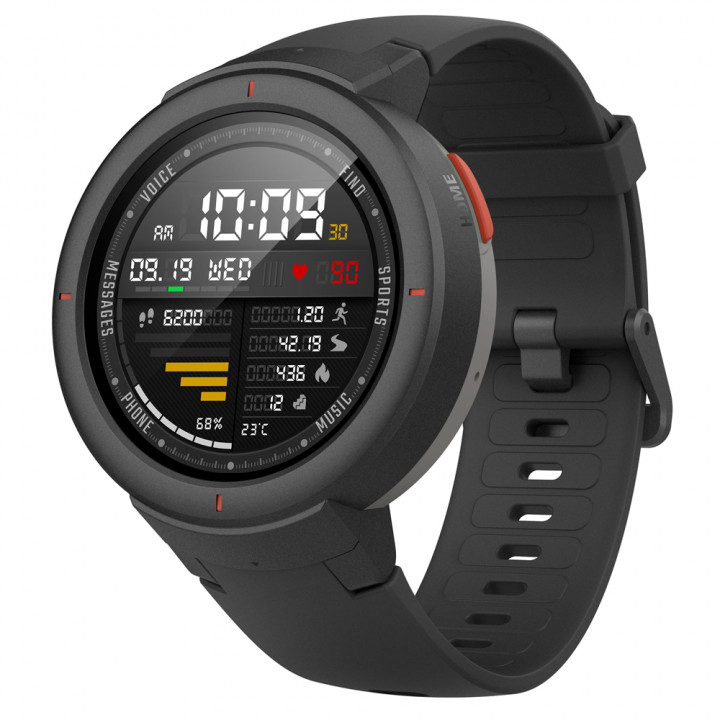 Умные часы Xiaomi Amazfit Verge International Version (A1811) (Черный)
