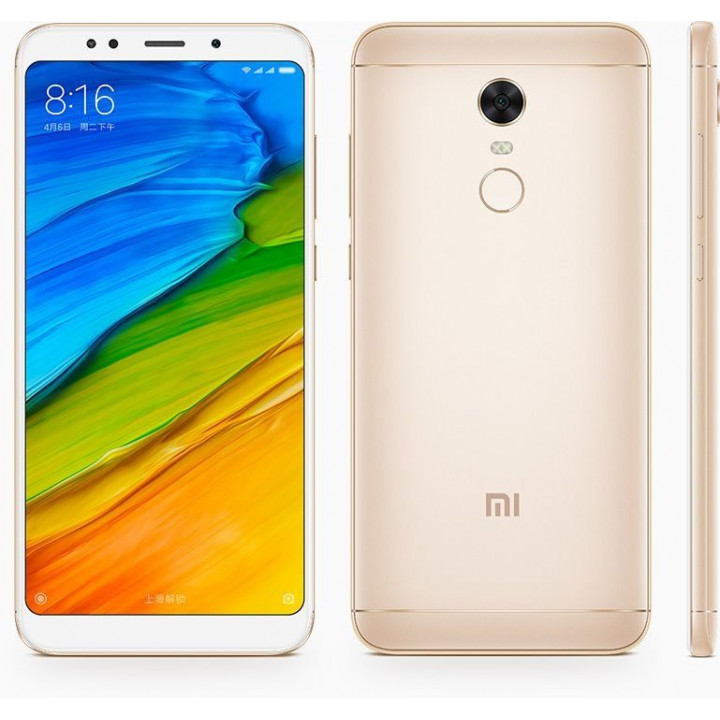 Xiaomi Redmi 5 Plus 4/64Gb Global Version (Золотой)