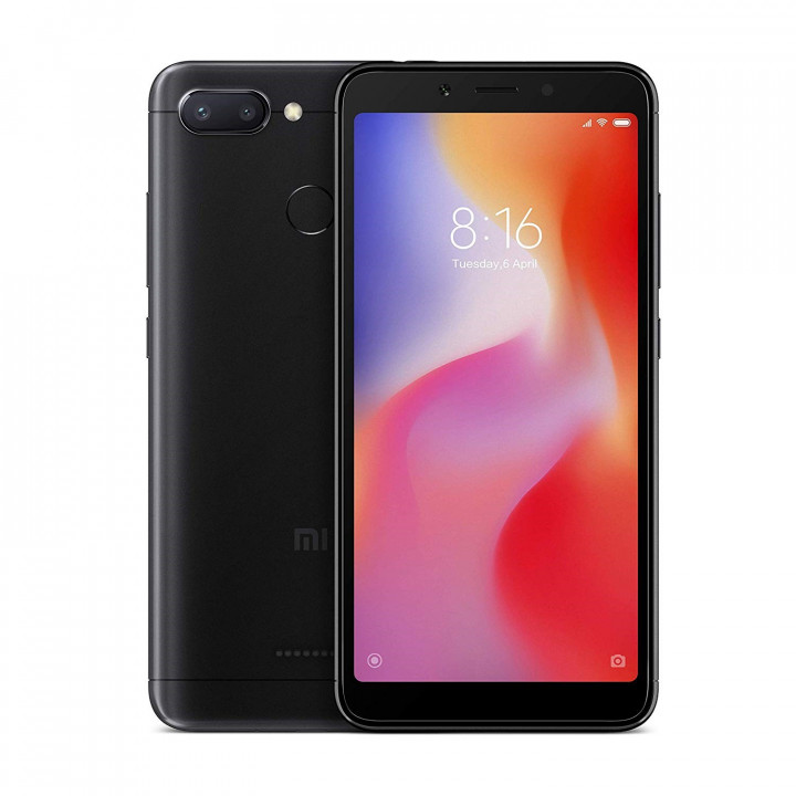 Xiaomi Redmi 6 3/64Gb Global version (Черный)