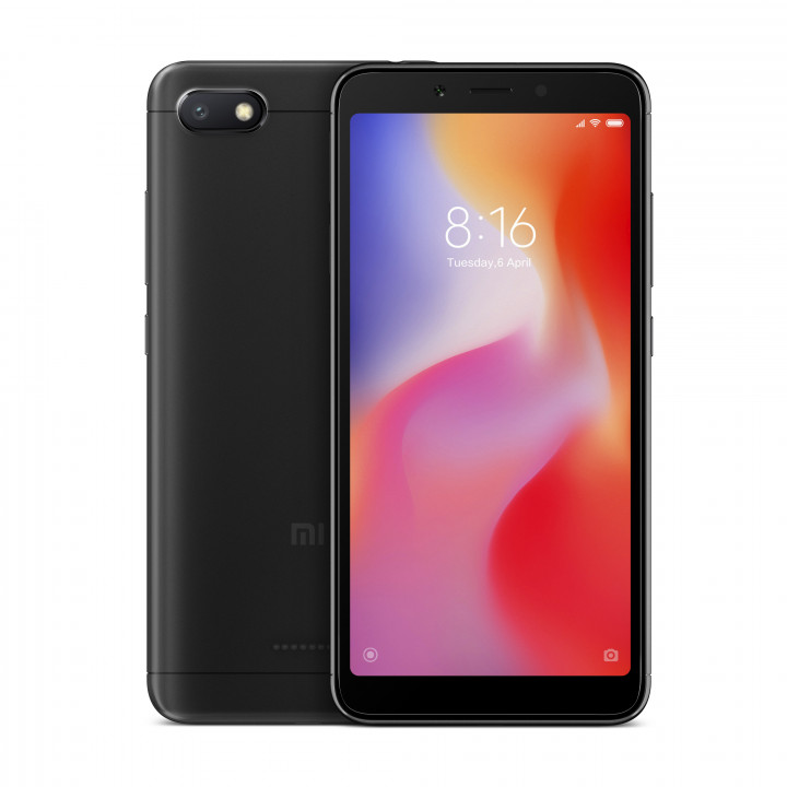 Xiaomi Redmi 6A 2/16Gb Global version (Черный)