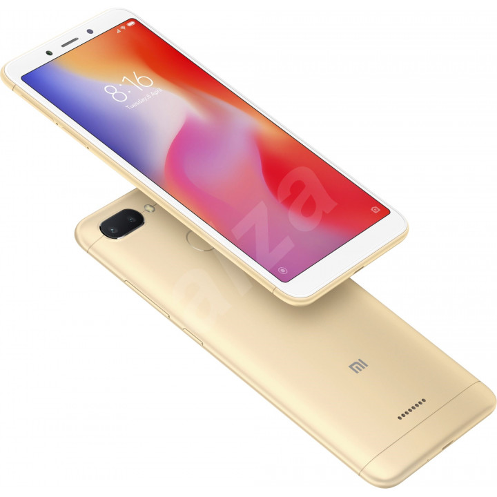 Xiaomi Redmi 6A 2/16Gb Global version (Золотой)