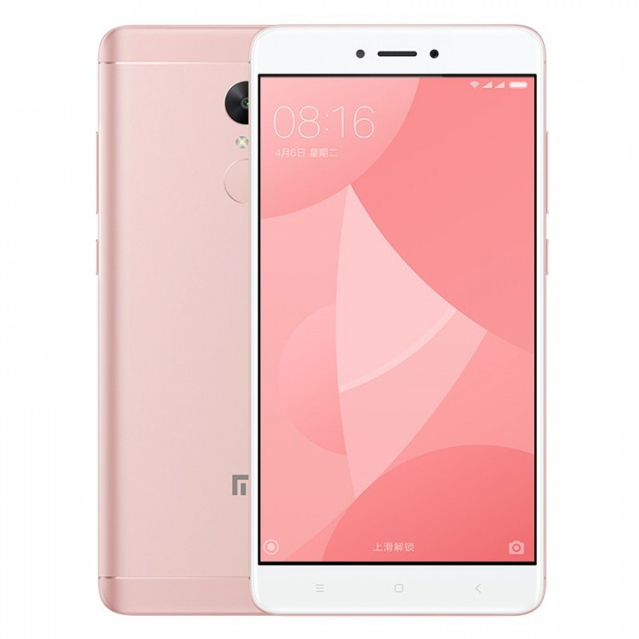 Xiaomi Redmi Note 4X 4/64Gb (Розовый)
