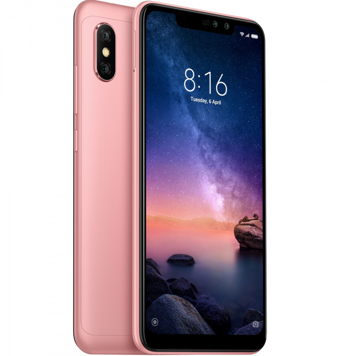Xiaomi Redmi Note 6 Pro 4/64Gb Global version (Розовый)