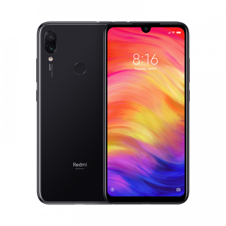 Xiaomi Redmi Note 7 4/64Gb Global Version (Черный)