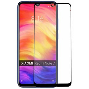 Защитное стекло AUZER Xiaomi Redmi Note 7 (Черное)