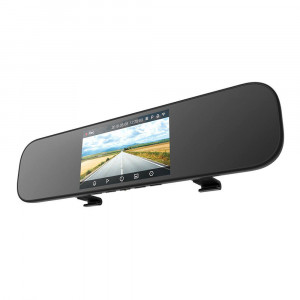 Видеорегистратор зеркало Xiaomi MiJia Rearview Mirror Recorder (MJHSJJLY01BY) (Черный)