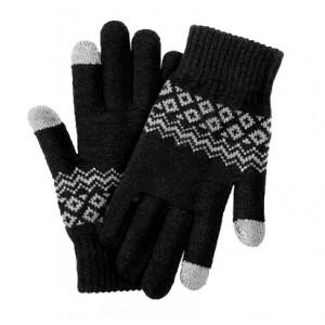 Перчатки Xiaomi для сенсорных экранов (Черный)