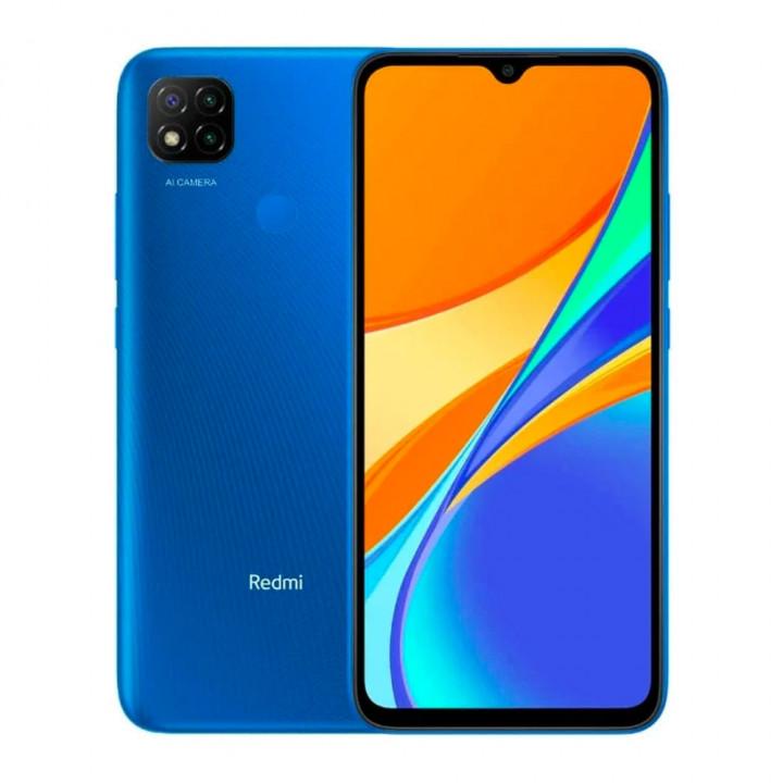 Xiaomi Redmi 9C 3/64Gb РОСТЕСТ (Синий) (NFC)