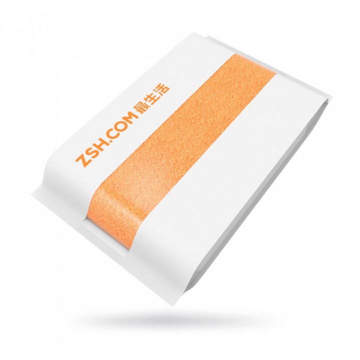 Полотенце Xiaomi ZHS 70см-140см (Оранжевый)