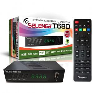 Цифровая приставка DVB-T2 SELENGA T68D
