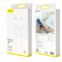Кабель Baseus Mini White Cable Type-C to iP PD 1m (CATLSW-02) (Белый)