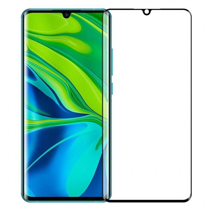 Защитное стекло AUZER Xiaomi Mi Note 10 (Черное)