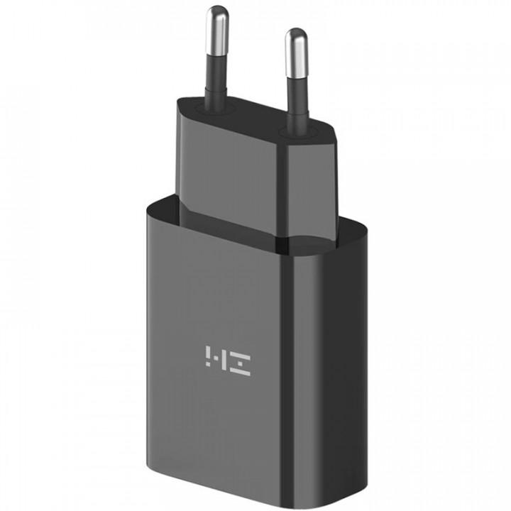 Сетевое зарядное устройство Xiaomi ZMI Fast Charger USB-A 18W (EU) (HA612) (Черный)