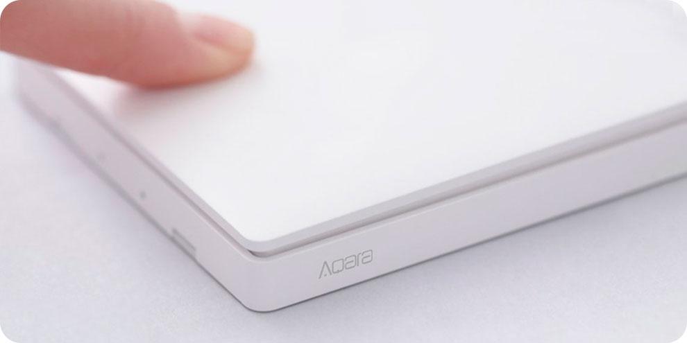 Изображение - Беспроводной выключатель Xiaomi Aqara Wall Wireless Switch Single D1 (WXKG03LM) (Белый) Без коробки