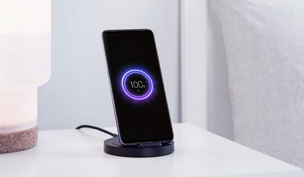 Изображение - Беспроводное зарядное устройство Xiaomi Mi Vertical Wireless Charger 20W (WPC02ZM) Черный