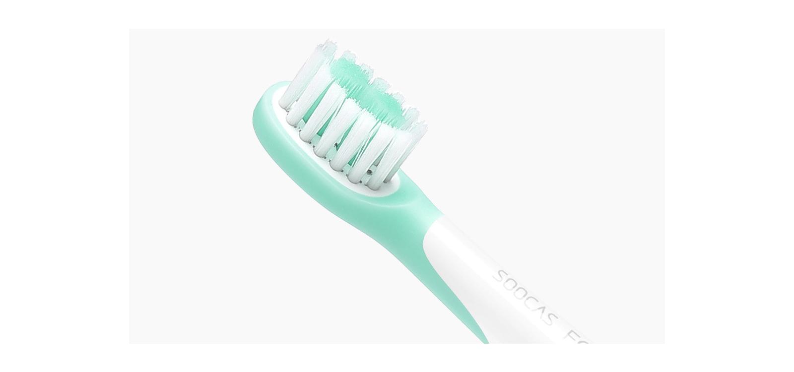Photo - Сменные насадки для зубной щетки Xiaomi Soocas Сhildrens Electric ToothBrush C1