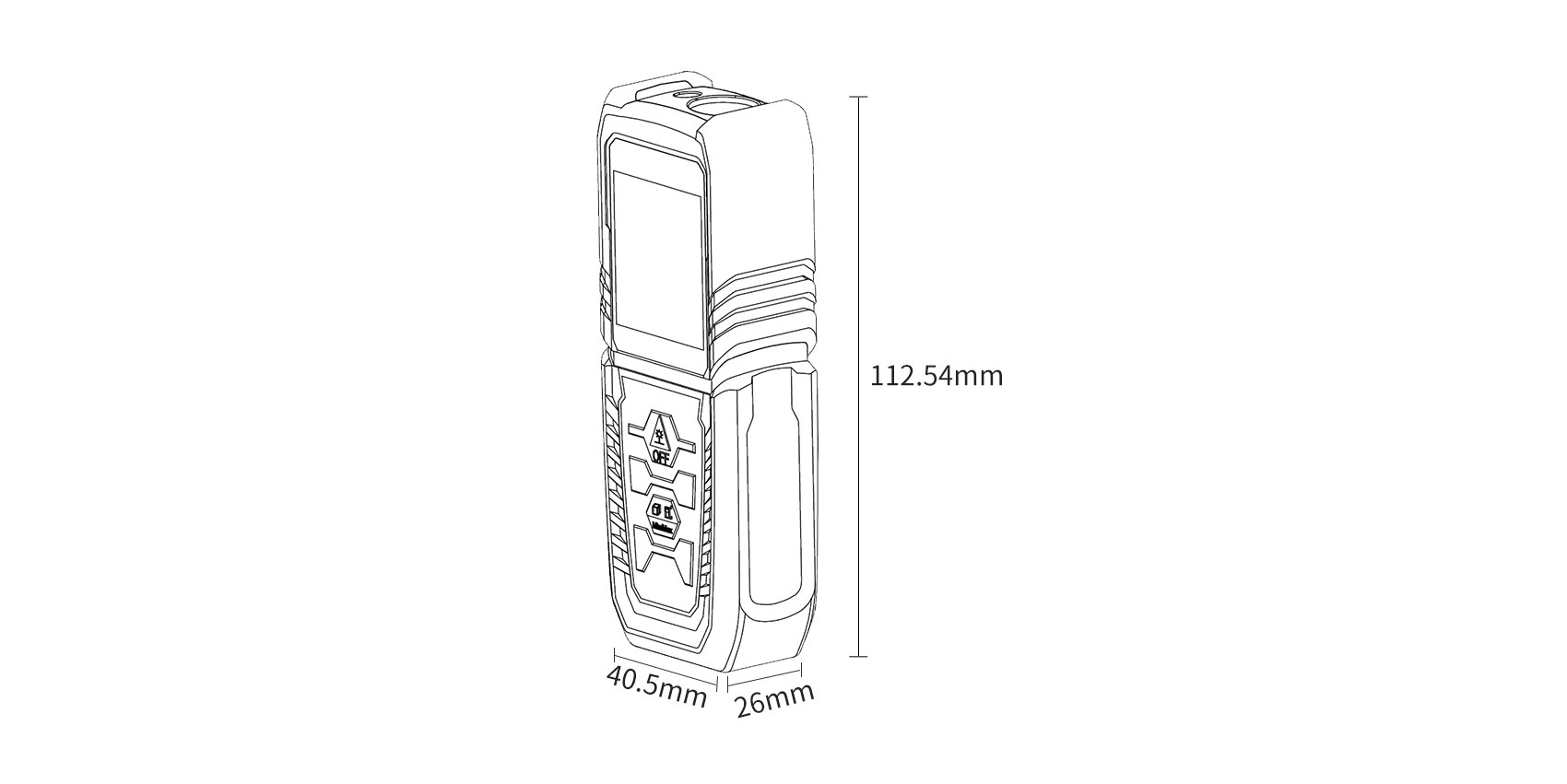 Изображение - Лазерный дальномер Xiaomi AKKU Laser Distance Meter
