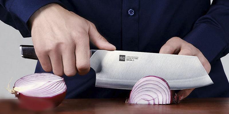 изображение - Набор ножей Xiaomi Huo Hou Fire Waiting Steel Knife Set с подставкой