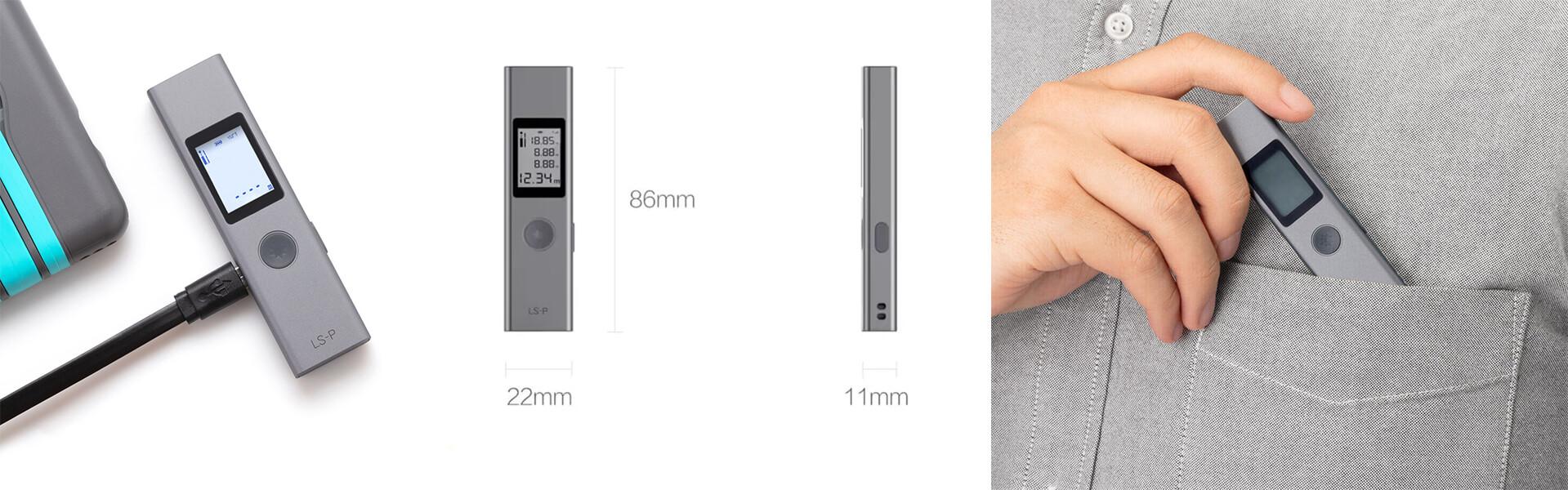 Изображение - Лазерный дальномер Xiaomi Duka LS-P