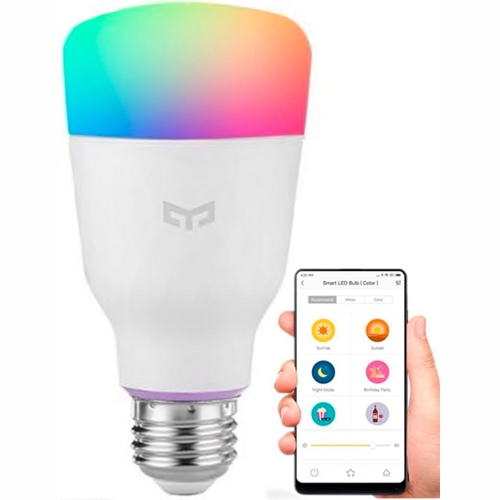 Изображение - Умная лампочка Xiaomi Yeelight Smart Led Bulb 1S (YLDP13YL) (Global Version) (Цветная)