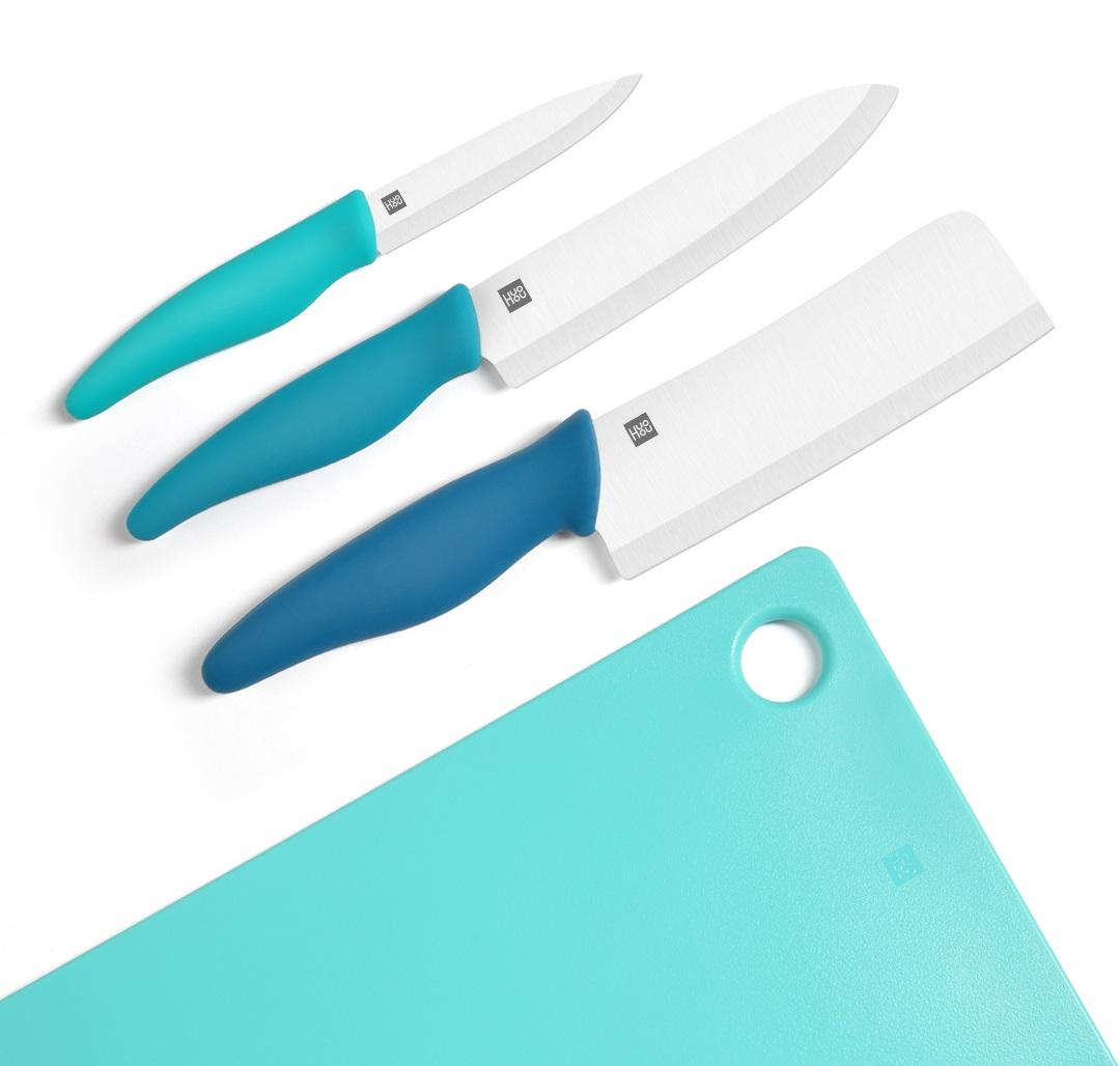 Изображение - Набор керамических ножей с разделочной доской