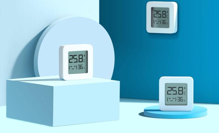 Датчик температуры и влажности Xiaomi MiJia Mi Home Bluetooth Hygrothermograph 2
