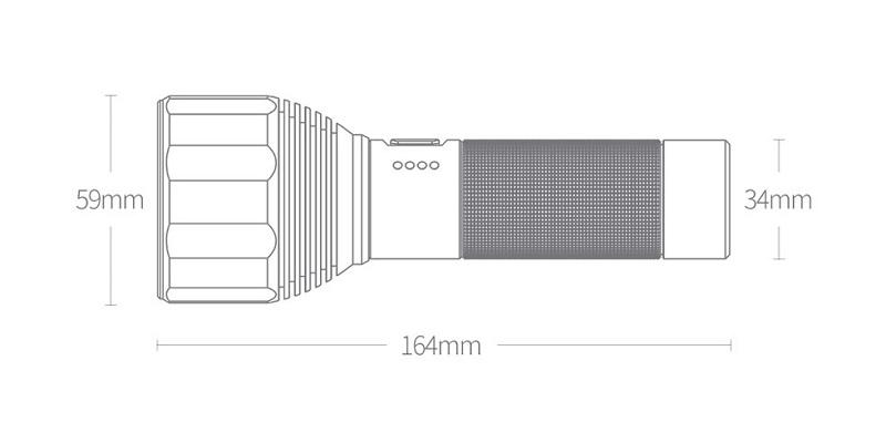 Фонарик Xiaomi Nextool LED Outdoor Powerful Light Flashlight