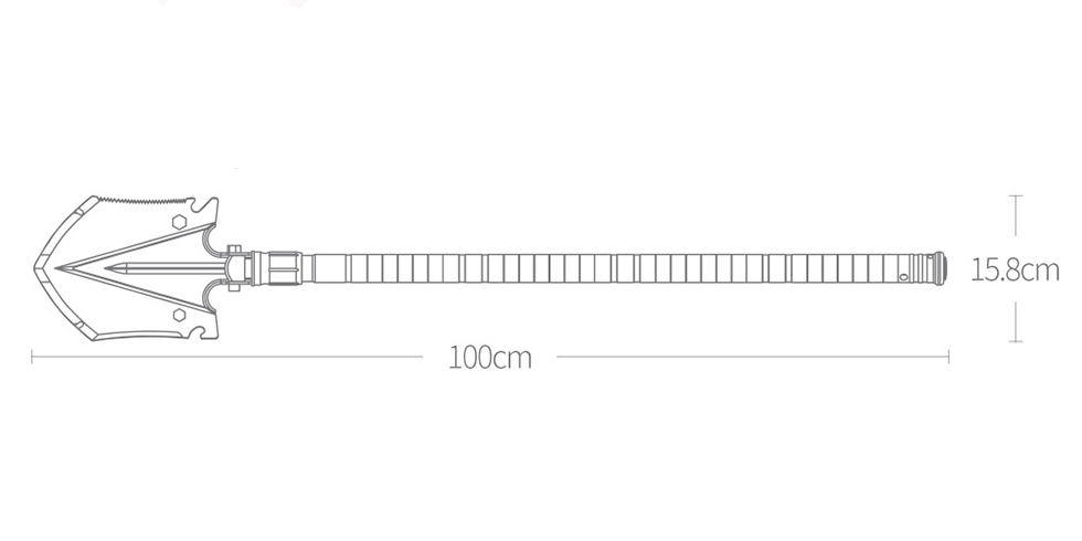 Изображение - Мультифункциональная лопата NexTool Shovel