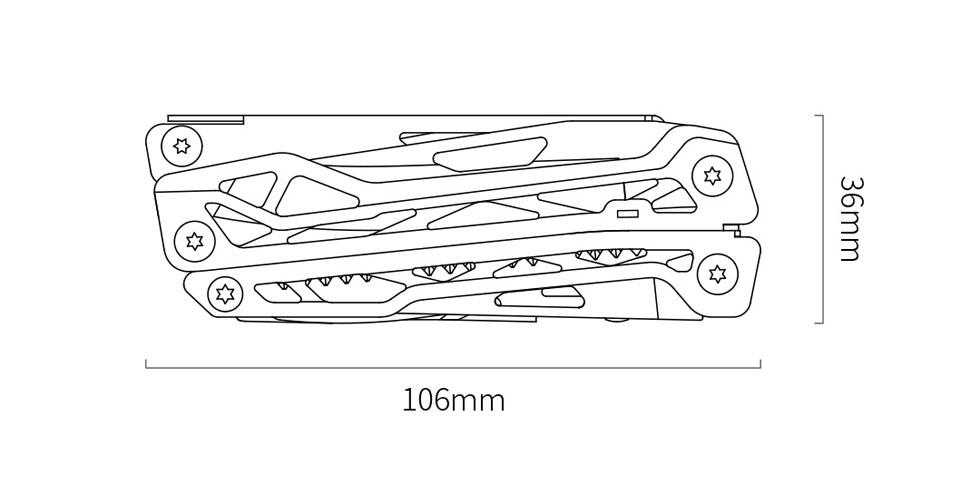 Изображение - Мультитул NexTool Multifunctional Knife