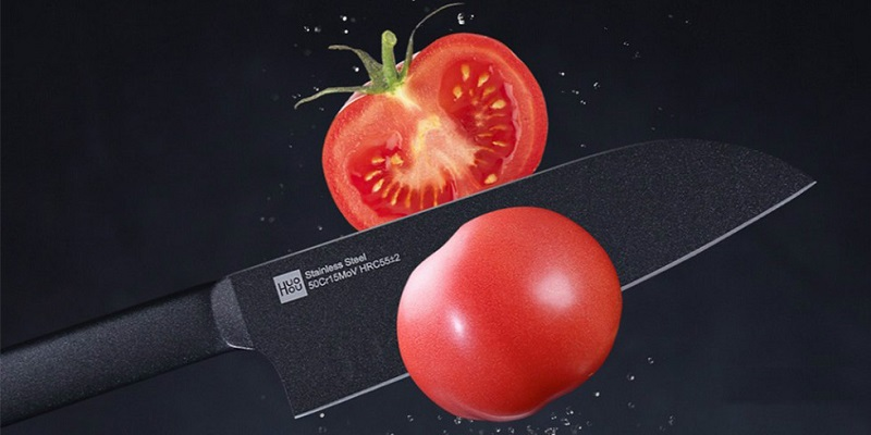 Набор ножей Xiaomi Huo Hou Black Heat Knife Set (2 шт.)