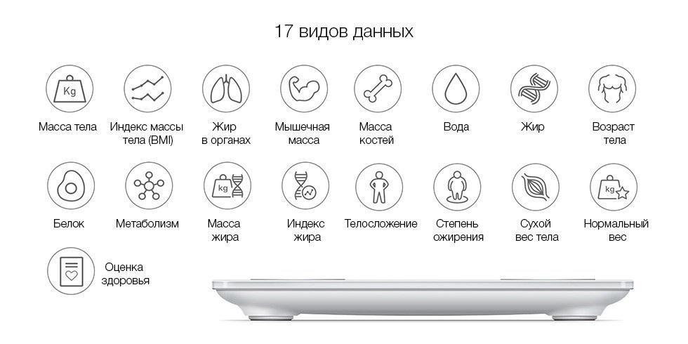 Изображение - Умные весы Xiaomi Yunmai Body Fat Scale mini 2