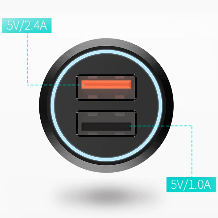 Изображение - Автомобильная зарядка 70Mai Xiaomi QC3.0