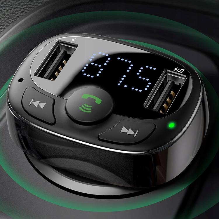 Изображение - Автомобильная зарядка FM-трансмиттер Baseus