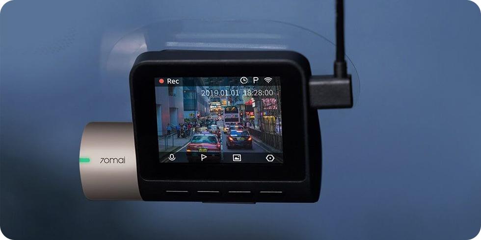 Видеорегистратор 70mai Dash Cam Pro Starlight Night Version (1080p)
