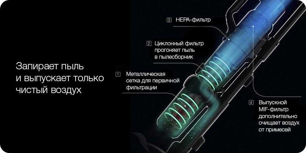 Беспроводной ручной пылесос Xiaomi Jimmy (Global Version) (JV71) (Золотой)