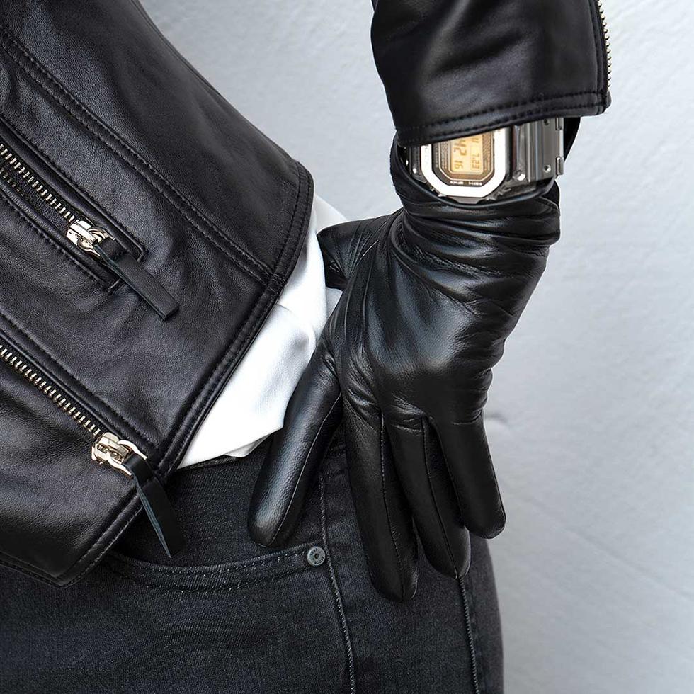 Изображение - Женские кожаные перчатки для сенсорных экранов Xiaomi Qimian