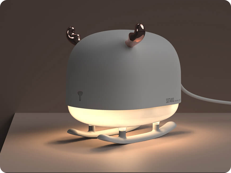 Изображение - Портативный увлажнитель воздуха Sothing Deer Humidifier&Light