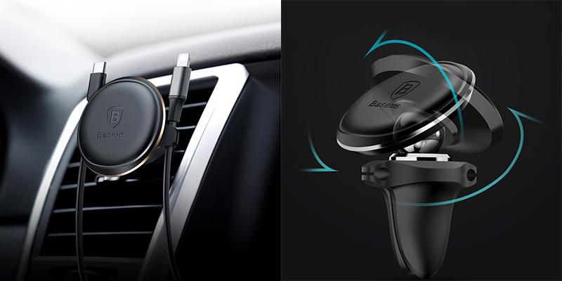 Изображение - автодержатель Baseus Magnetic Air Vent Car