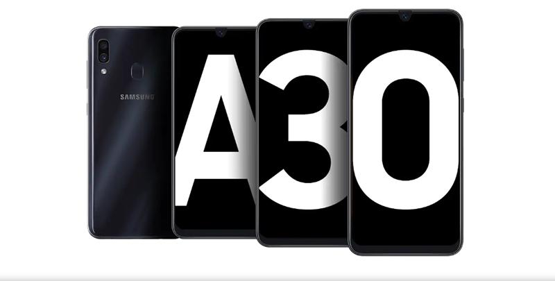 Изображение - смартфон Samsung Galaxy A30