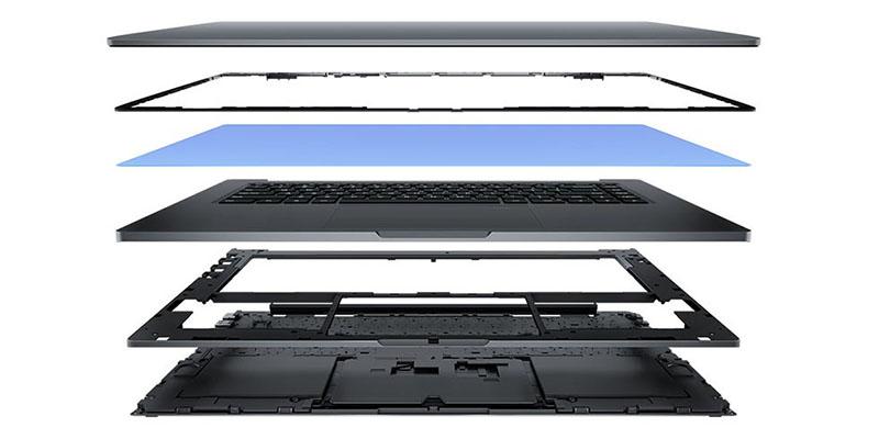 Изображение - корпус ноутбука Xiaomi Mi Notebook Pro