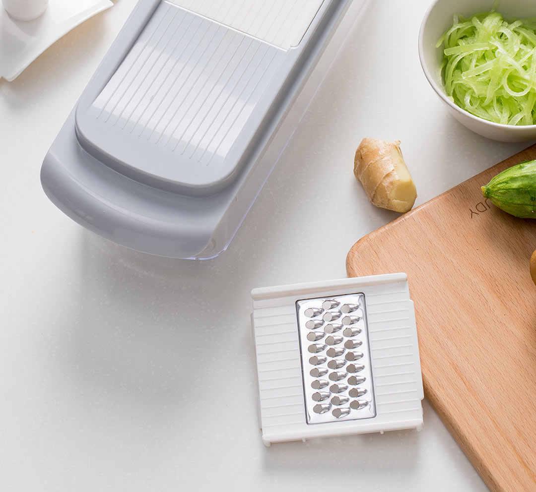 Изображение - Овощерезка Xiaomi Jordan Judy Manual Vegetable Cutter Slicer Fruit Melon Peeler (6 в 1) (HO491) Серый