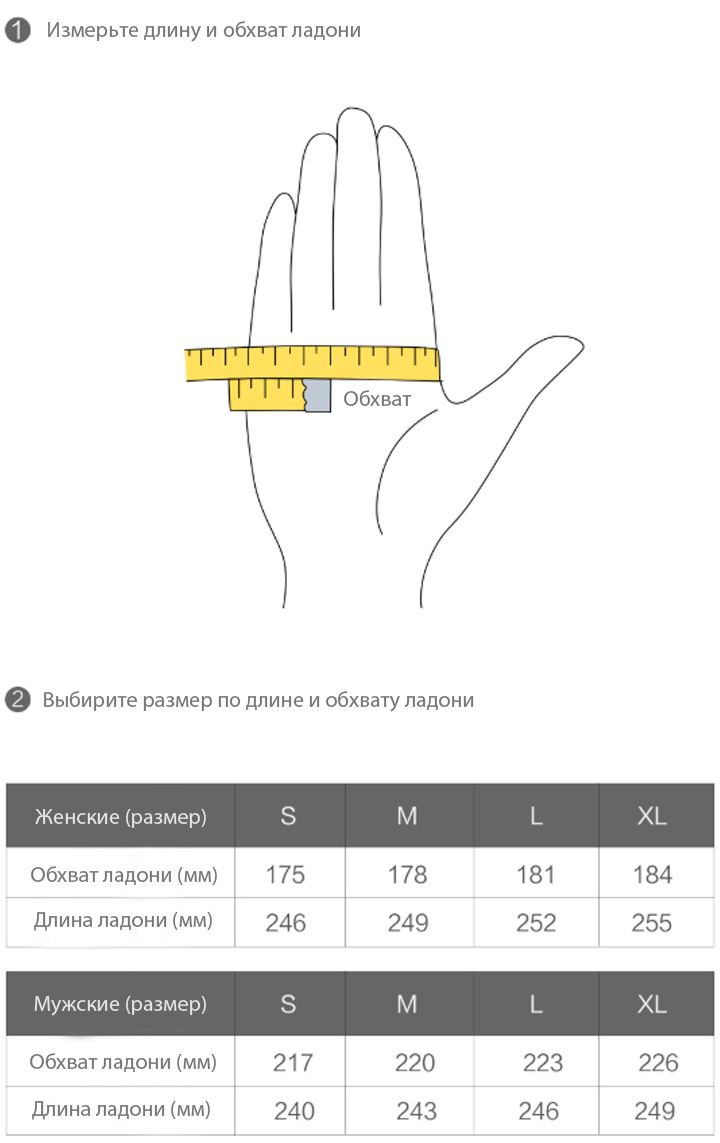 Кожаные перчатки Xiaomi Qimian Lambskin Touchscreen Gloves