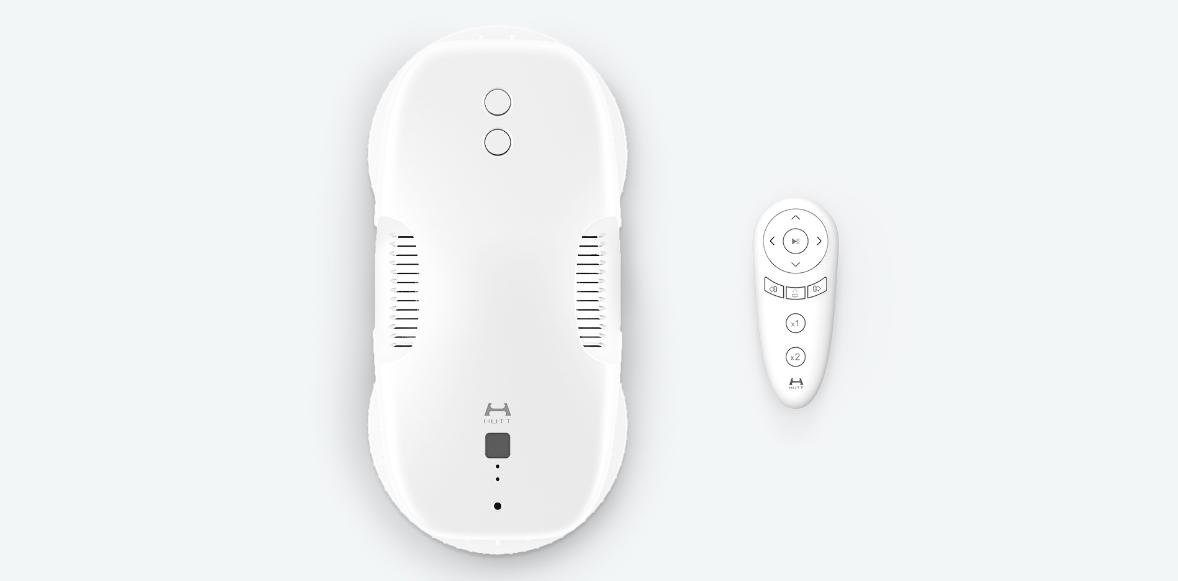 Робот-стеклоочиститель Xiaomi Hutt DDC55 (Белый) robot4home.ru